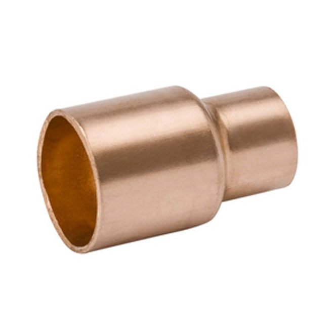 "Straight 1"" - 3/4"" Copper Solder to Solder Reducing Sleeve"