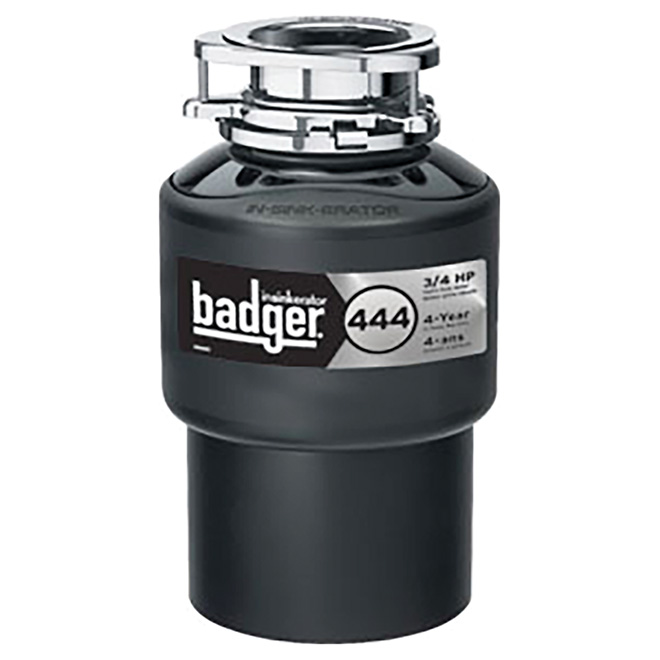 "Waste Disposer - ""Badger 444"" Food Waste Disposer"