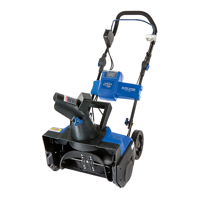 Cordless Electric Snow Thrower