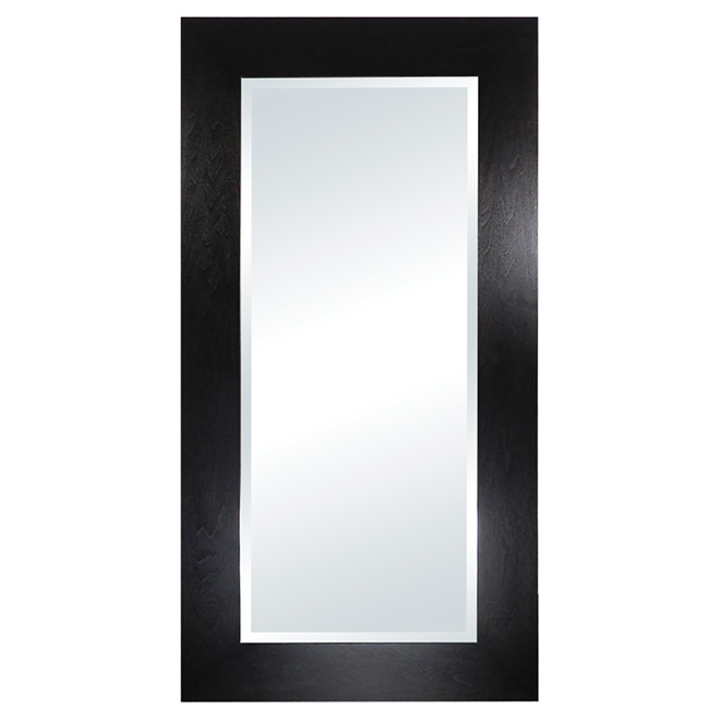 Wenge dusk mirror rona for Miroir a coller ikea
