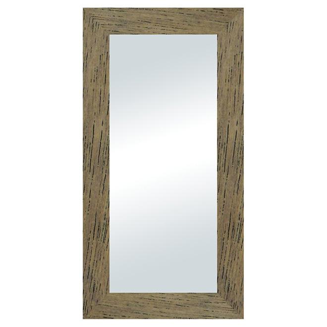 Wenge dusk decorative mirror rona for Miroir wenge