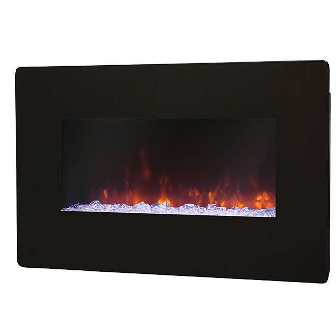 1400-W Wall-mount Fireplace