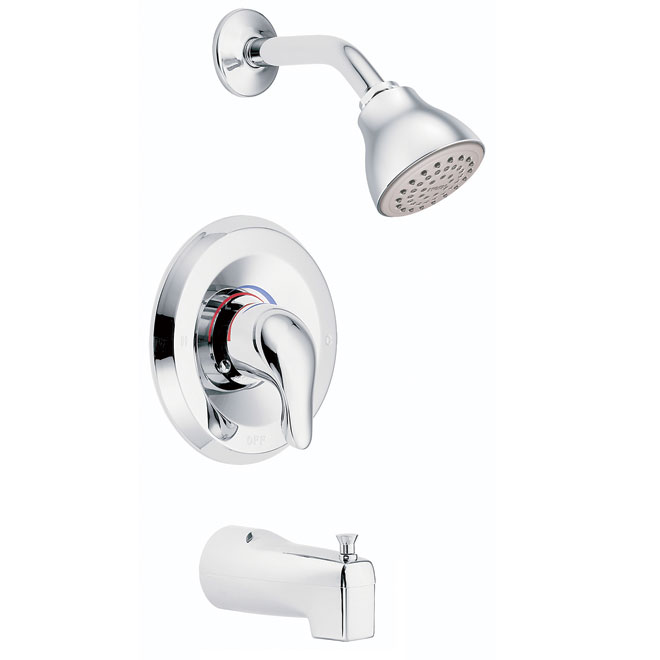chteau 1handle tub and shower faucet
