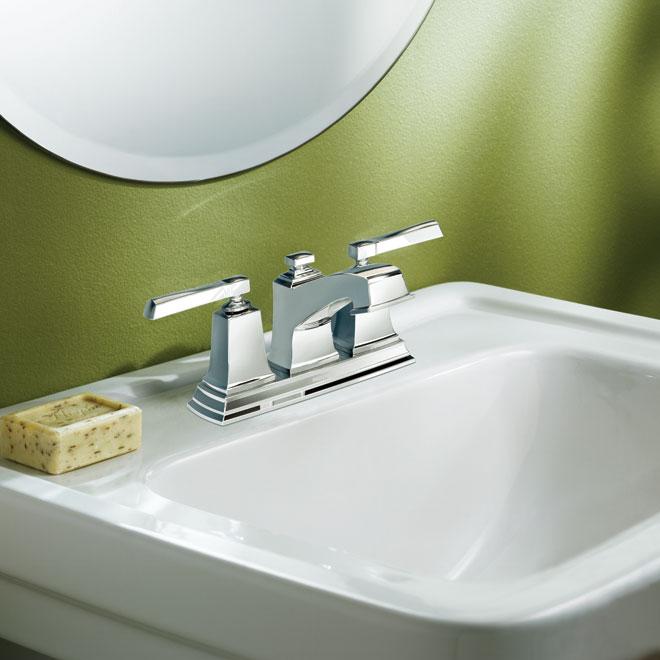 boardwalk 2handle lavatory faucet - Moen Boardwalk