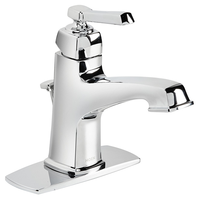 "Bathroom Faucet -1 Handle - 4""- Chrome"