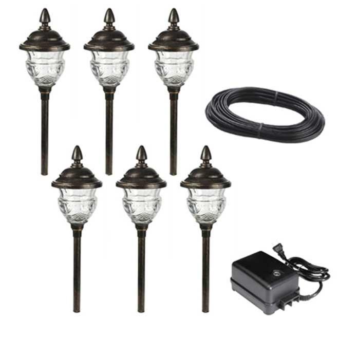 Ensemble de 6 luminaires de jardin rona for Luminaire exterieur rona