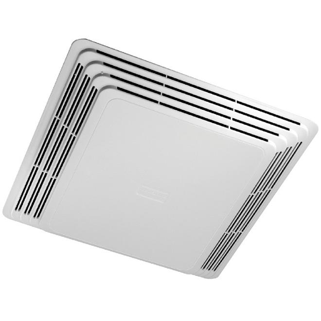 "Deluxe Ventilation Fan Grille - 10 1/8 X 10 5/8"" - White"