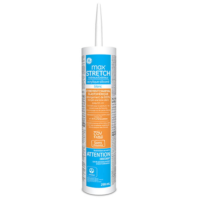 Scellant Max Stretch, 299 ml, blanc