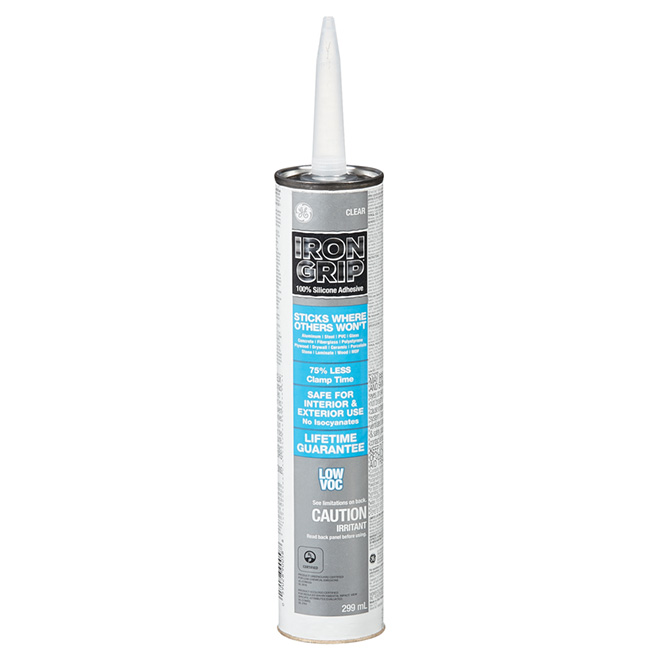 Iron Grip Adhesive - 299 mL - Clear