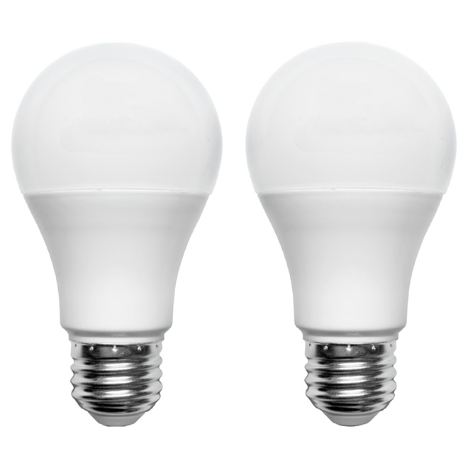 LED Bulb A19 9.5W - Dimmable - SoftWhite - 2-Pack
