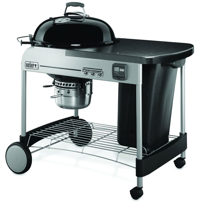 Performer(R) Charcoal BBQ - 363 sq.in. - Black