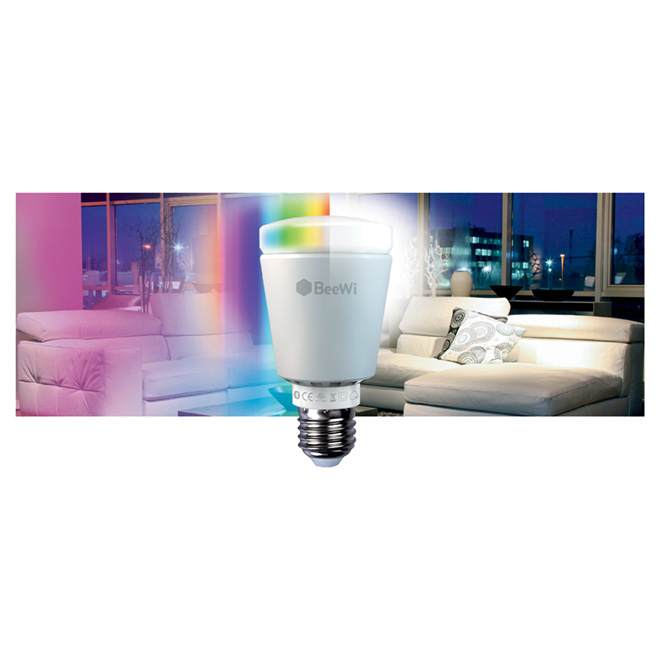 Bluetooth Smart Led Bulb 7W, A19-E26, Changing Colors