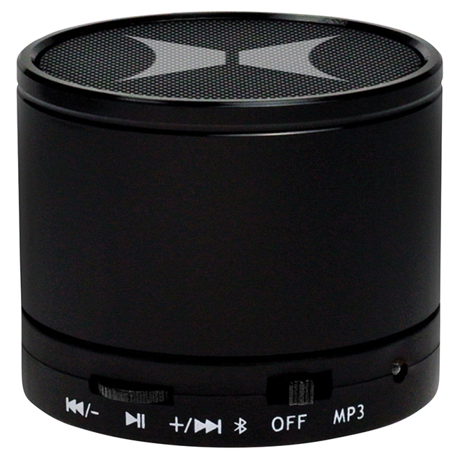 Mini Bluetooth Speaker - Round - Black