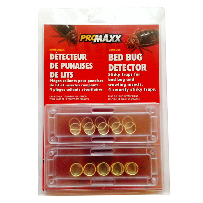 bed bug detector sticky traps - pack of 4 | rona