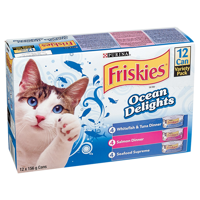 Ocean Delights Wet Cat Food - 12-Pack