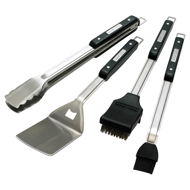 4-Piece Barbecue Tool Set
