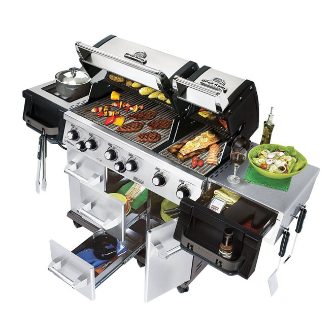 Propane Gas BBQ - 85,000 BTU - 1 035 sq.in.