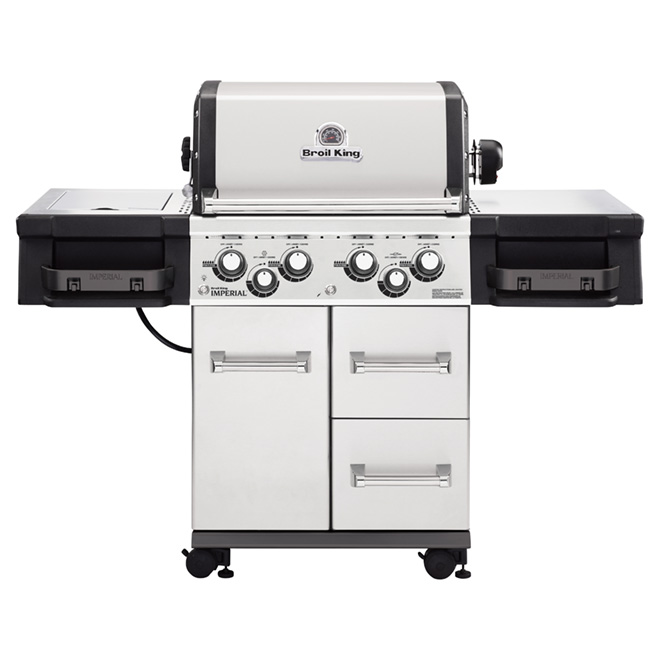 Propane Gas BBQ - 75,000 BTU - 695 sq.in.