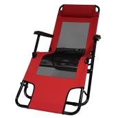 Outdoor Lounge Chair - Ohio - Red