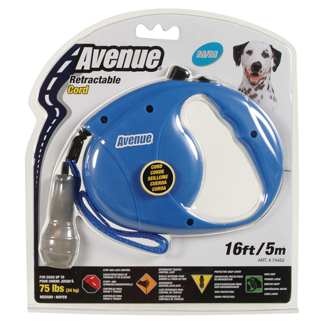 Retractable Dog Leash - Medium  - 16'