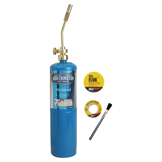 Propane Torch Kit with 14.1 oz Cylinder