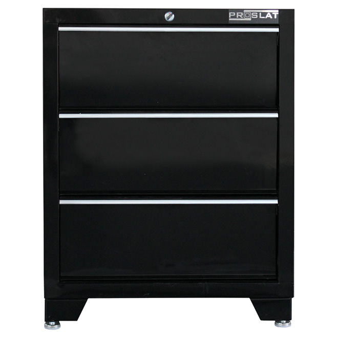 "3-Drawer Base Cabinet - 20"" x 26"" x 34"""