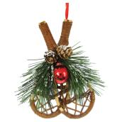 Bell Ornament - Snowshoes - 6.25