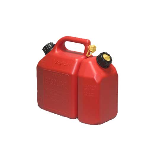 Can - 2-in-1 Gasoline and Oil Can