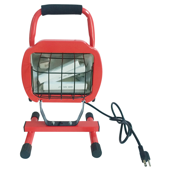 Halogen Portable Work Lamp - 600 W - 17 3/8""