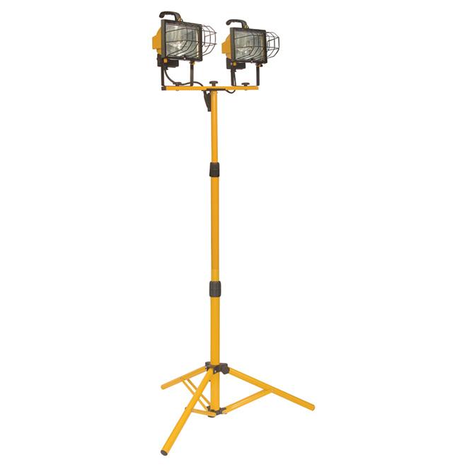 Halogen Tripod Work Lamp 2 X 500w 67 3 4 Quot Rona
