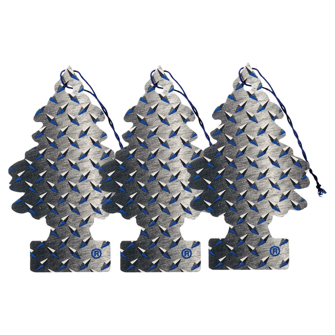 """Pure Steel"" Car Air Freshener, 3-Pack"
