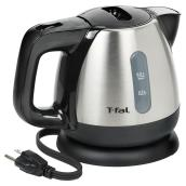 Mini Electric Kettle - 360° Base - 0.8L - Stainless Steel