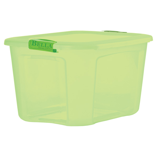 37.8 L Storage Tote - Green