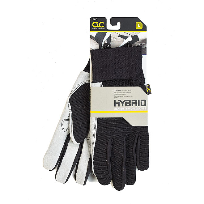 Men's Leather and Suede Work Gloves