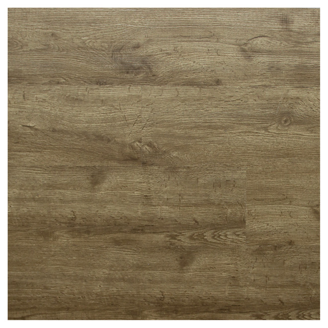 Vinyl Floor Planks - Oak - 7.5 mm - 15.3 ft² - 8/Box