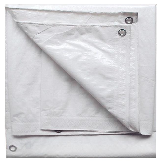 b che en poly thyl ne blanc 20 pi x 30 pi rona. Black Bedroom Furniture Sets. Home Design Ideas