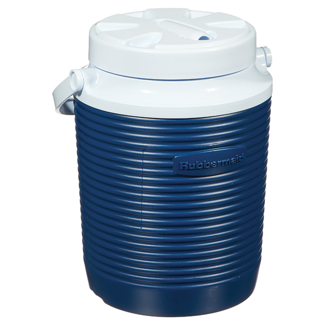 Insulated Blue Water Jug - 1 Gallon
