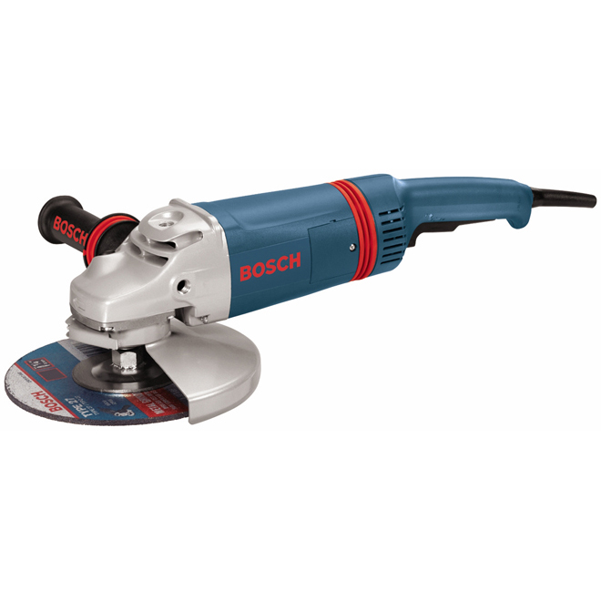 Angle Grinder with Flange Kit - 15 A - 7''