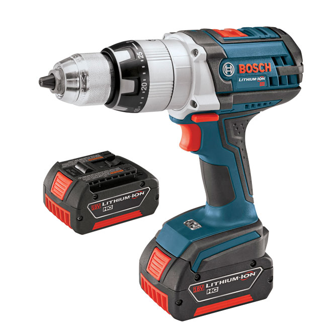Brute Tough(TM) Hammer Drill/Driver - 18 V - 1/2''