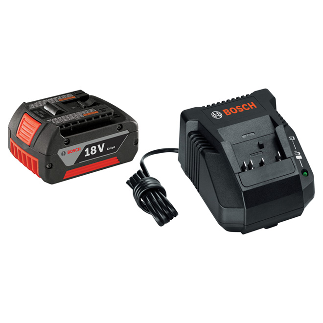 High Capacity Lithium-Ion Start Kit - 18V - 2-Piece