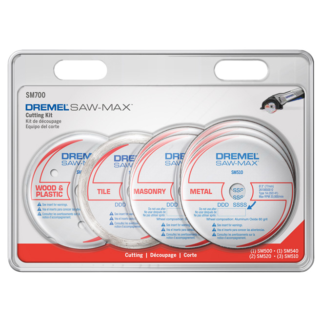 "Saw Blade Set - ""Saw-Max"" - 7-Pieces"