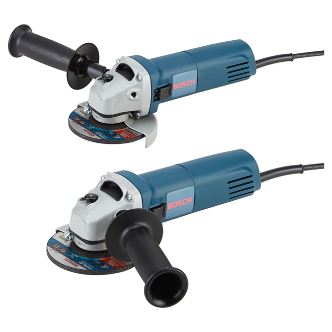 "Angle Grinders - Electric - 4 1/2""- 6A - 2 Pack"