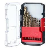 Cobalt Drill Bit Set - 21-Pieces