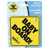 Enseigne « Baby on Board » pour voiture, 5 po