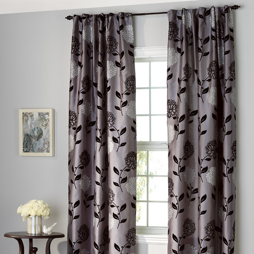 "Curtains - ""Luxor"" Back Tab Panels"
