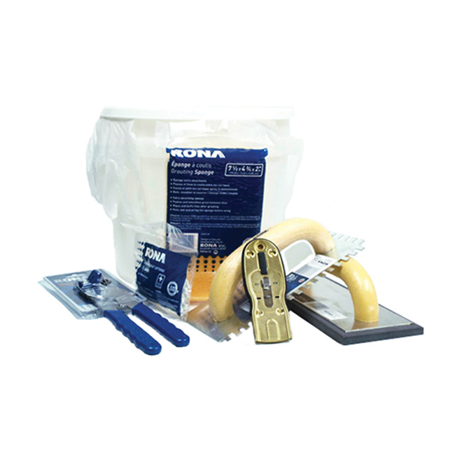 Ceramic installation kit