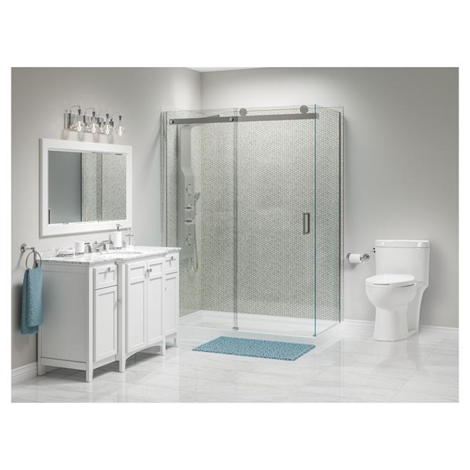 meuble lavabo 4 portes malaga rona. Black Bedroom Furniture Sets. Home Design Ideas