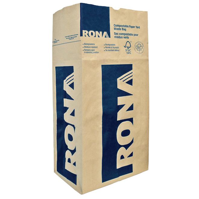 paquet de 5 sacs compostables rona. Black Bedroom Furniture Sets. Home Design Ideas