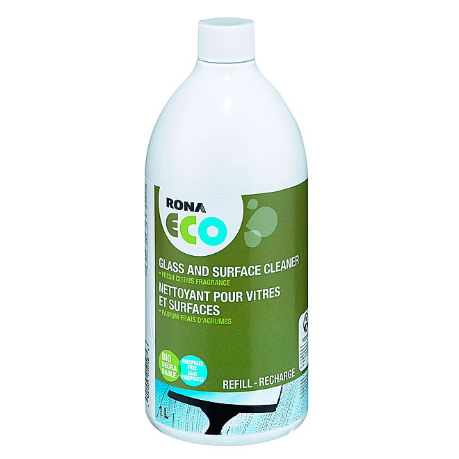 Glass and Surface Cleaner Refill - 1 L