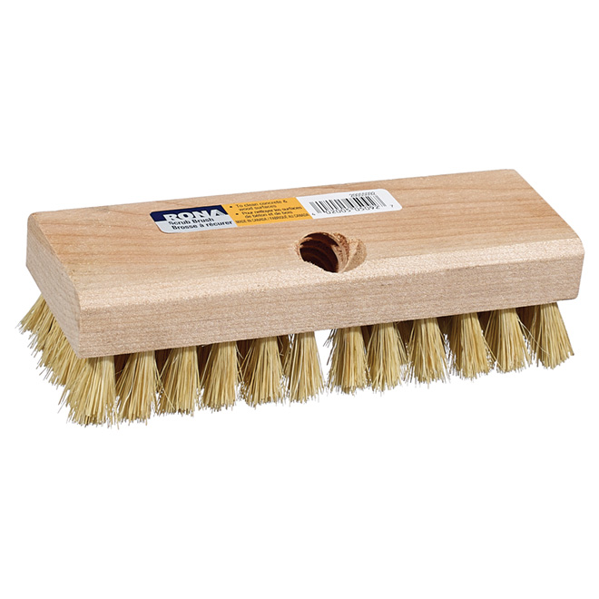 Rectangular Scrub Brush with tampico fiber